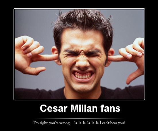 Millan fan confronted by science