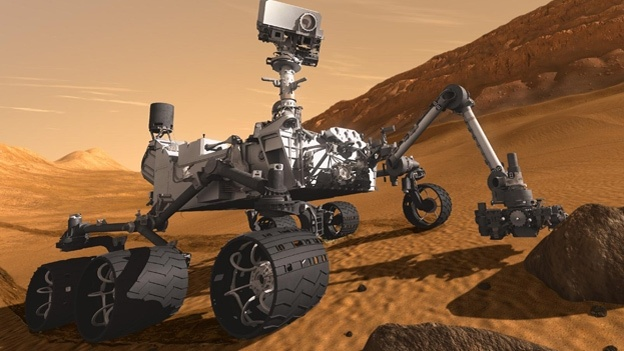 Curiosity killed the cat Image by NASA